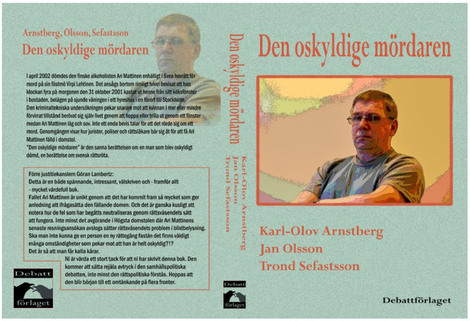 Den oskyldige mördaren av Karl-Olov Arnstberg